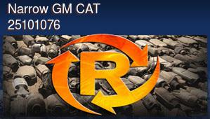 Narrow GM Catalytic Converter