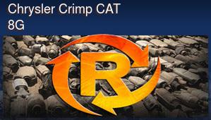 Chrysler Crimp Catalytic Converter