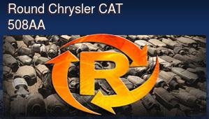 Round Chrysler Catalytic Converter