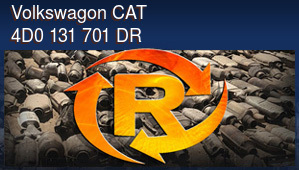 Volkswagon CAT 4D0 131 701 DR