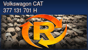 Volkswagon CAT 377 131 701 H