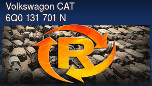 Volkswagon CAT 6Q0 131 701 N
