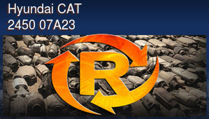 Hyundai CAT 2450 07A23