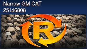 Narrow GM CAT 25146808