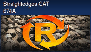 Straightedges CAT 674A