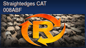 Straightedges CAT 008ABF