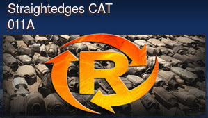 Straightedges CAT 011A
