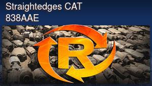 Straightedges CAT 838AAE