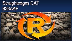 Straightedges CAT 838AAF