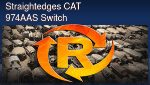 Straightedges CAT 974AAS Switch