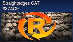 Straightedges CAT 637ACE
