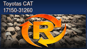 Toyotas CAT 17150-31260