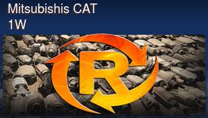 Mitsubishis CAT 1W