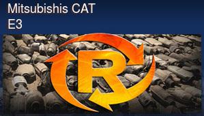Mitsubishis CAT E3