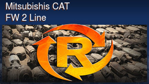 Mitsubishis CAT FW 2 Line