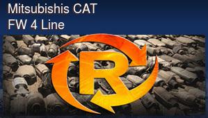 Mitsubishis CAT FW 4 Line