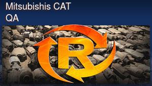 Mitsubishis CAT QA