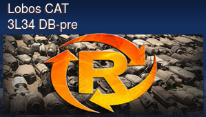 Lobos CAT 3L34 DB-pre