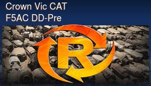 Crown Vic CAT F5AC DD-Pre