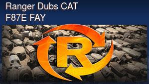 Ranger Dubs CAT F87E FAY
