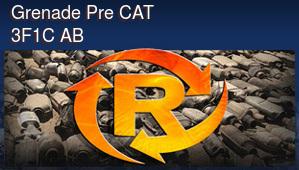 Grenade Pre CAT 3F1C AB