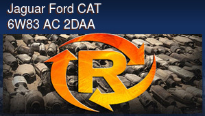 Jaguar Ford CAT 6W83 AC 2DAA