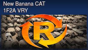 New Banana CAT 1F2A VRY