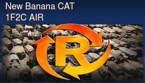New Banana CAT 1F2C AIR