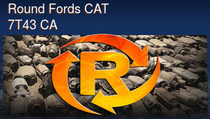 Round Fords CAT 7T43 CA