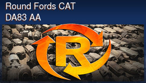 Round Fords CAT DA83 AA