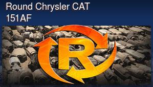 Round Chrysler CAT 151AF