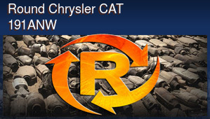 Round Chrysler CAT 191ANW