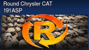 Round Chrysler CAT 191ASP