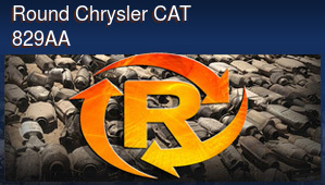 Round Chrysler CAT 829AA