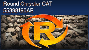 Round Chrysler CAT 55398190AB