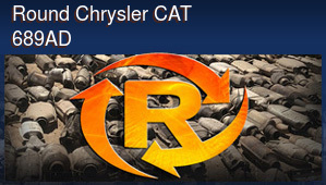 Round Chrysler CAT 689AD