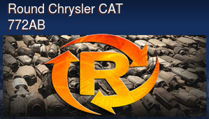 Round Chrysler CAT 772AB