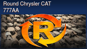 Round Chrysler CAT 777AA