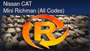 Nissan CAT Mini Richman (All Codes)