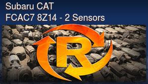 Subaru CAT FCAC7 8Z14 - 2 Sensors
