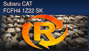 Subaru CAT FCFH4 1Z22 SK