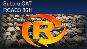 Subaru CAT RCAC3 8611