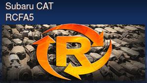 Subaru CAT RCFA5