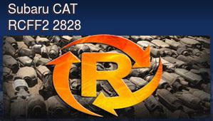 Subaru CAT RCFF2 2828